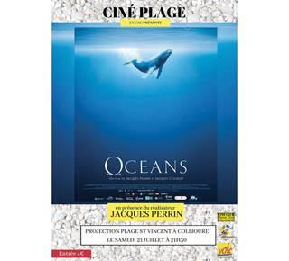 Projection du film OCEANS