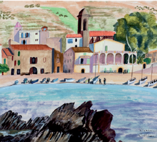 "Exposition ""Collioure 1930 - 1940 : Donation Valia Boulay"