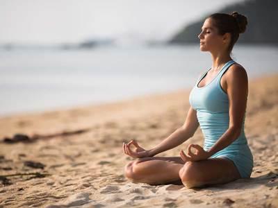 Josiane Andrieu - Étirement-yoga