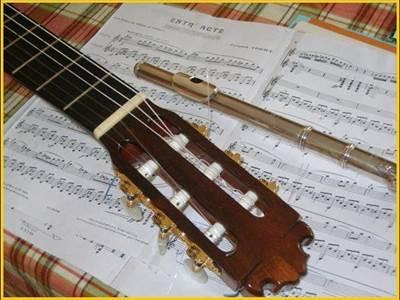stage flûte traversière et guitare
