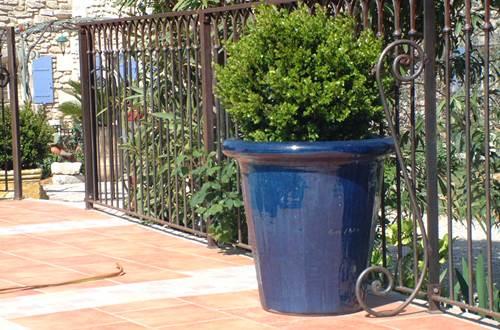 Vase d'Anduze Terre d'Anduze ©