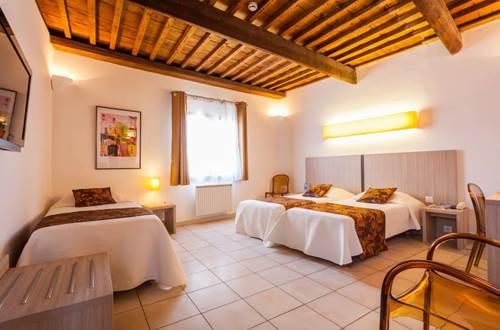 Chambre triple de l'hôtel La Taverne de Sophie © La Taverne de Sophie