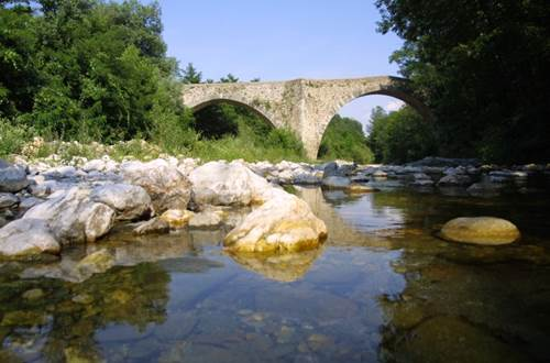 La Croix Clémentine pont des camisards Galeizon ©