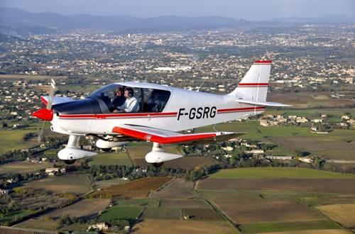 Aéroclub d'Alès et des Cévennes - Avion en vol - Deaux ©