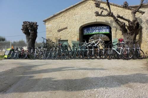 Location Vélos Uzès © Olivier FONTANILLE
