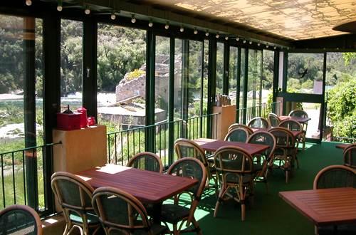 restaurant l'enclos proche pont du gard ©