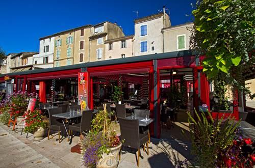 Restaurant La Place © Sud de France Développement