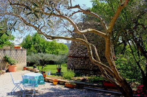 Obofix capitelle dans jardin © Yvan GREER