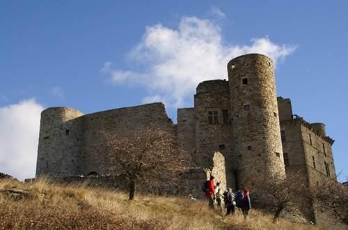 Randonnée au château de Portes ©