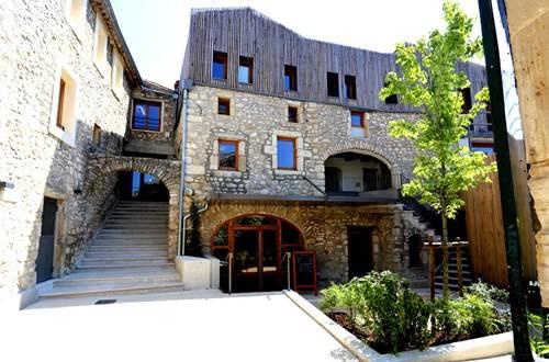 La maison du grand site des gorges du Gardon ©