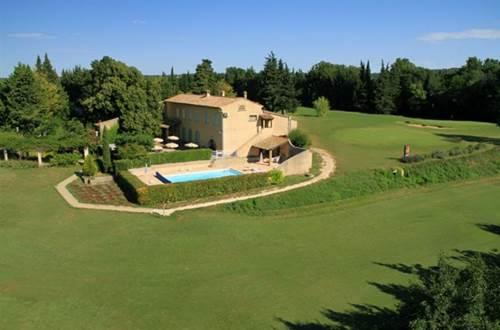 GOLF CLUB UZES mas et parcours de golf © ALLIER Maryse