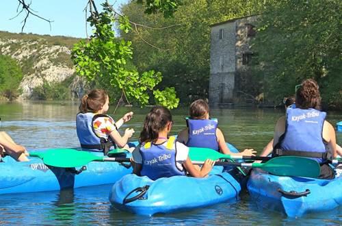 Kayak Tribu enfants ©