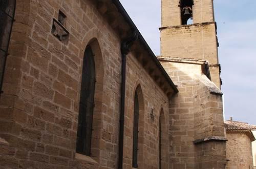 Eglise de côté © Mairie de Roquemaure