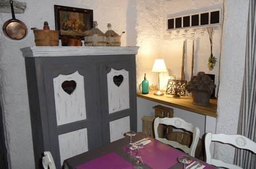 l'Auberge des Marronniers Lussan - restaurant © l'Auberge des Marronniers