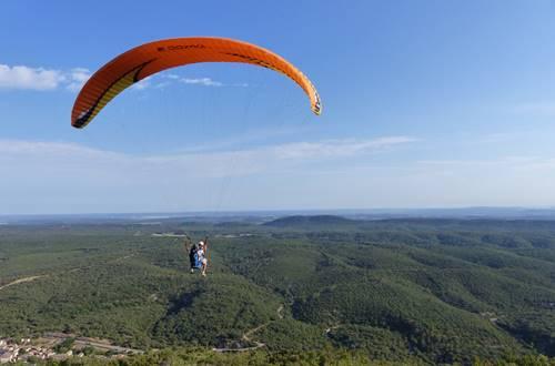 Vol libre depuis le Mont Bouquet ©