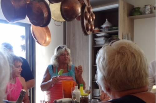 Joie de Vivre Unimited - cours de cuisine Provençale © Joie de Vivre Unimited