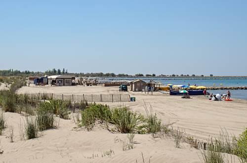 plage sud devant la résidence ©
