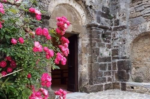 st paul la coste eglise fleurs ©