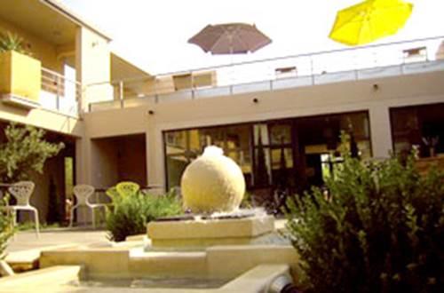 restaurant de l'hotel le patio de violette à uzès ©