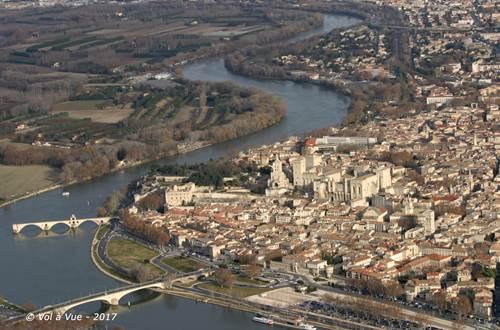 Vue Avignon © Vol a vue