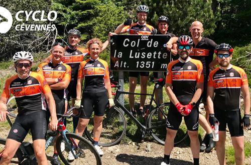 Cyclo Cévennes La Lusette ©