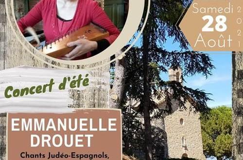 Concert d'été Laudun Emmanuelle Drouet ©