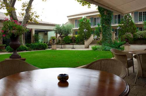 Hôtel Villa Mazarin terrasse ©