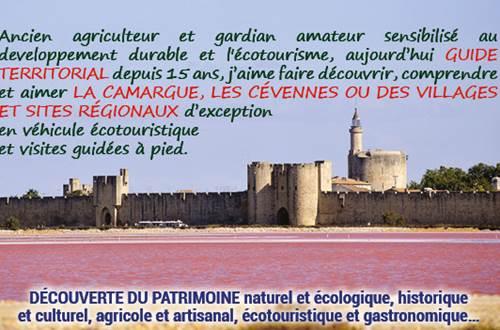 Découverte avec Phil du Patrimoine naturel et écologique, historique et culturel, agricole et artisanal, éco-touristique et gastronomique ... ©