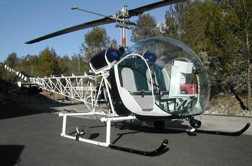 Cévennes hélicoptère St Croix de Caderle 3 ©