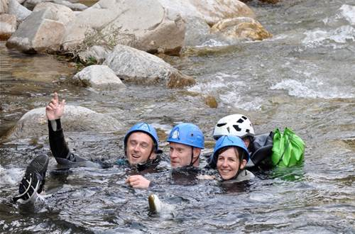 canyoning parfum d'aventure ©