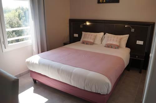 chambre Hotel le Gardon ©