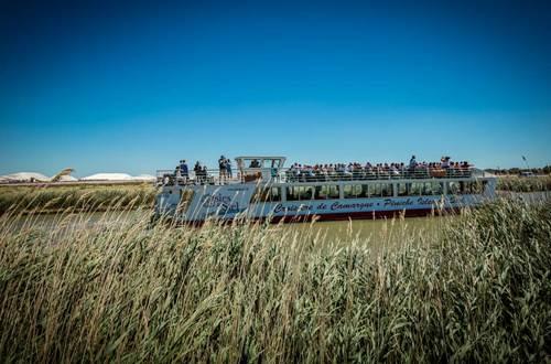 Péniches Isles de Stel © Sud de France Développement