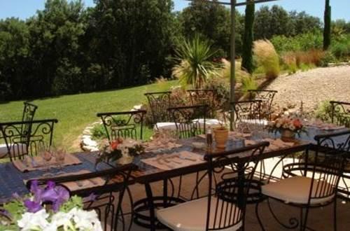restaurant l'oliveraie pont du gard ©