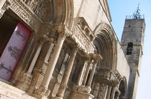 Abbatiale Saint Gilles du Gard etape du chemin de Régordane ©