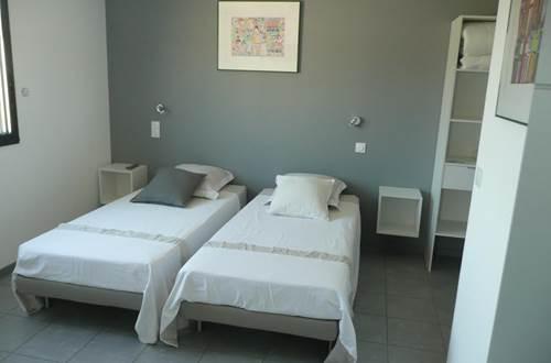 chambre lits 90  © coteaux des anesses