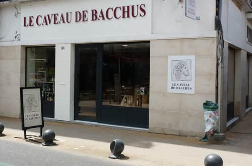 Le Caveau de Bacchus boutique Alès ©