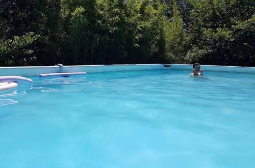 piscine le Portel des Arnaud ©