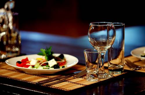 Restaurant Le R - assiette ©
