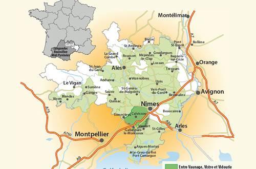 Cartoguide Entre Vaunage, Vistre et Vidourle ©