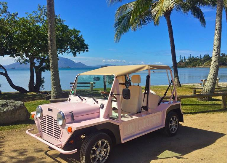 Noumea Beach Car,