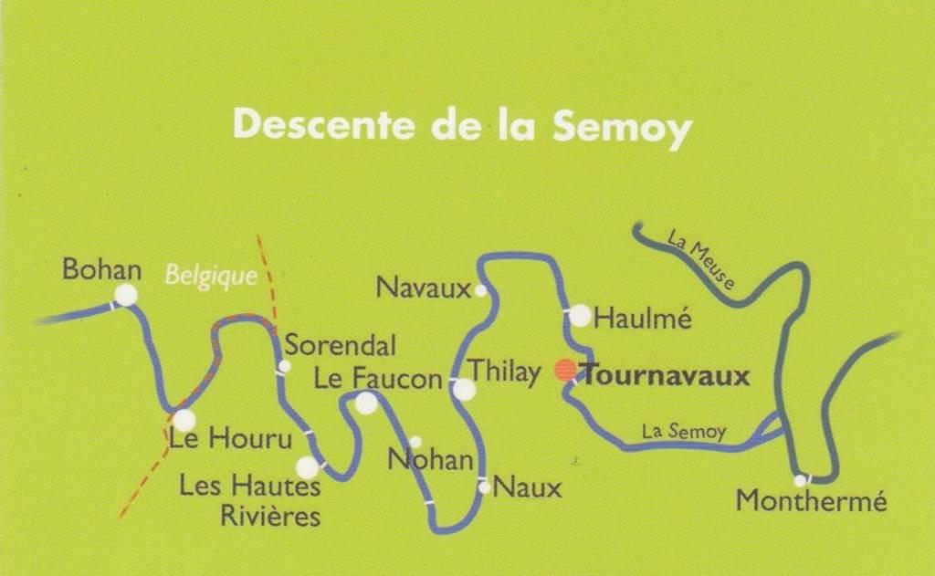 canoe en semoy