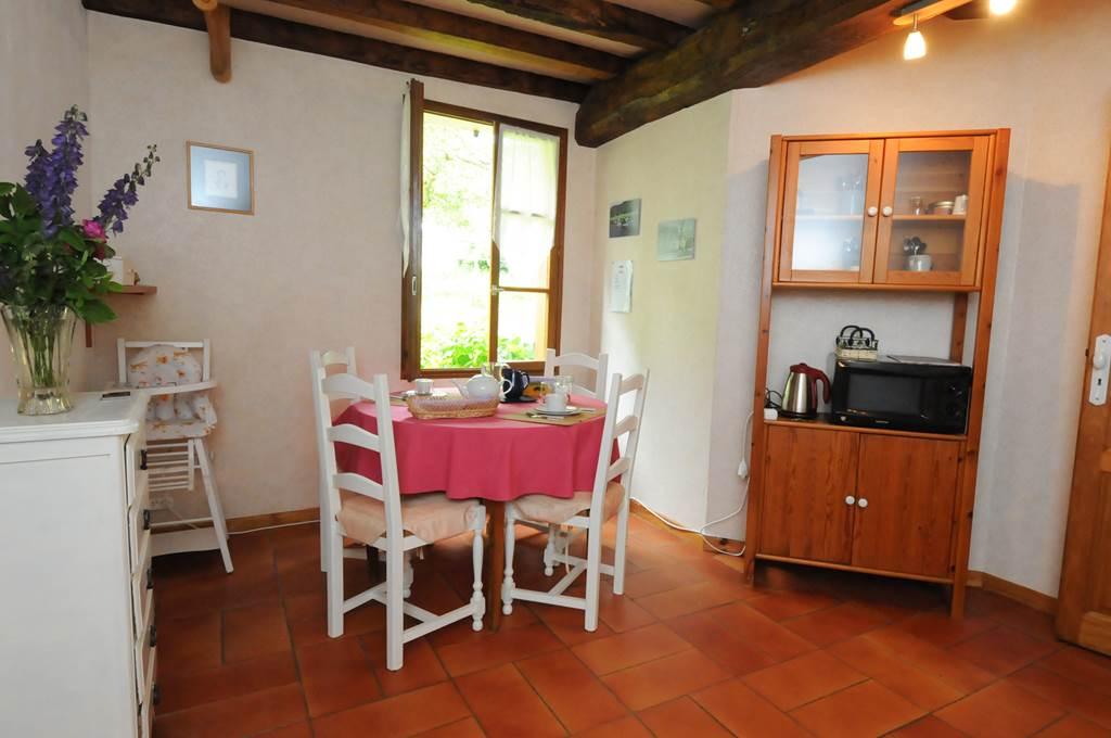 La Blanche Gelée - cuisine