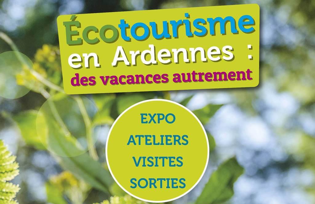 animation dans le cadre de l'exposition tourisme durable