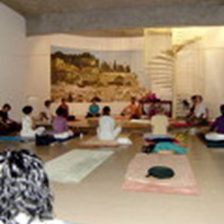 Photo cours de hatha yoga